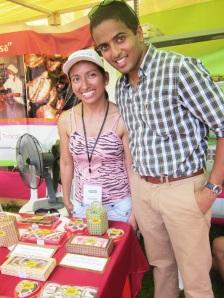 At the Feria Mocambo