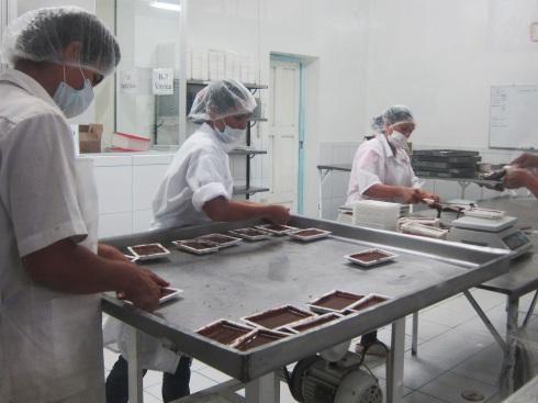 La Orquieda chocolate factory