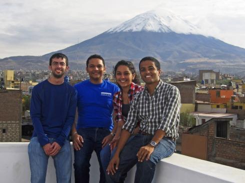 El Misti casts an imposing presence over Tarapoto